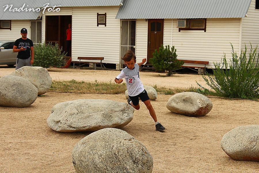27 июня - тренировка фигуристов в саду камней