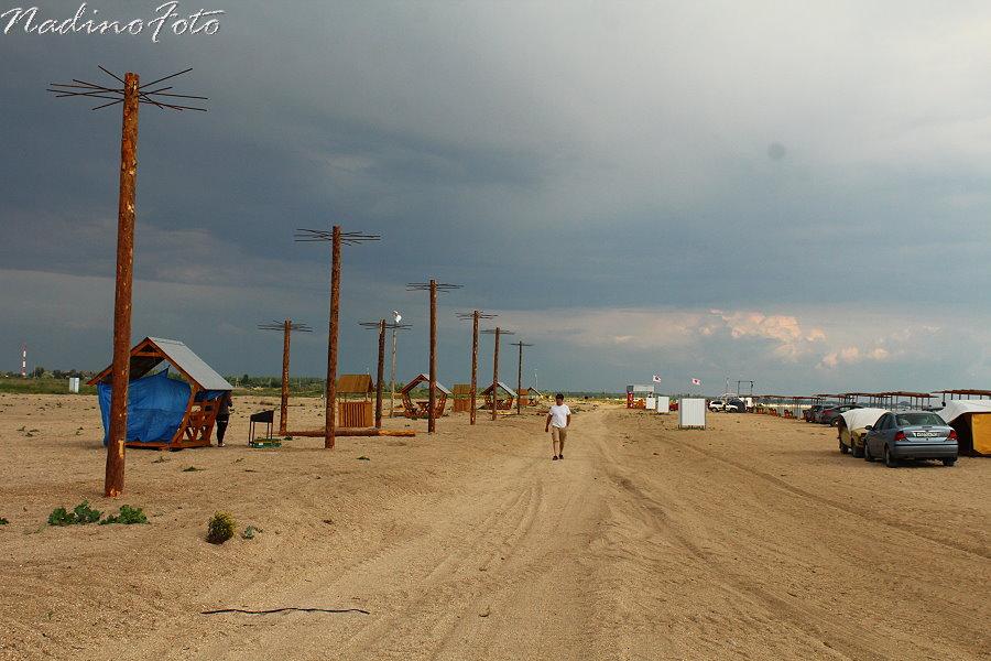 30 июня - Кемпинг Серфприюта. Подготовка пляжа к фестивалю A-ZOV FEST 2012