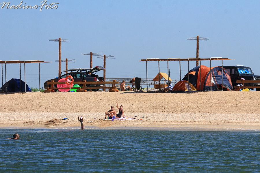 9 июля - кемпинг Серфприюта, взгляд с моря