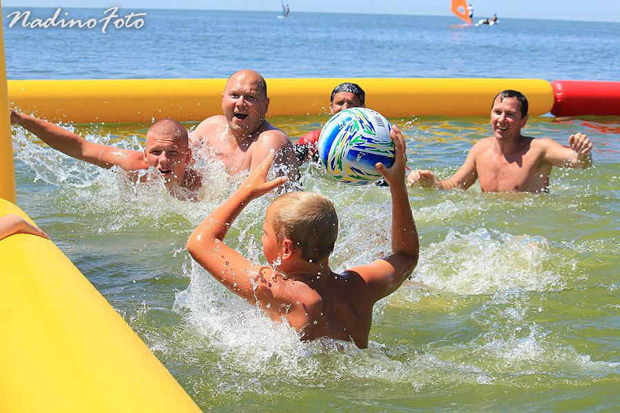 10 июля - Кипит вода Азовского моря от эмоций Должанских (2)