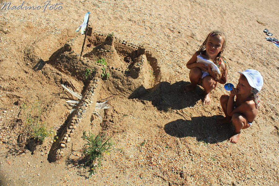22 июля - замки на песке